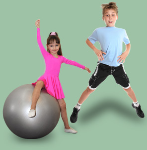 Fitness for children is very important.